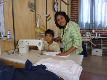 Spendenaktion für Nähmaschine