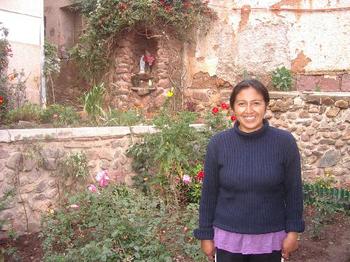 Neues von unserer Stipendiatin Gabriela