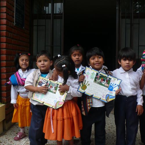 Post für Escuelas Cuidadas und Lukas Familie