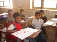 Jungs im Klassenzimmer