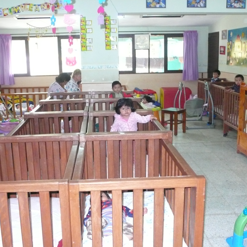 Im Zimmer der ganz kleinen Kinder