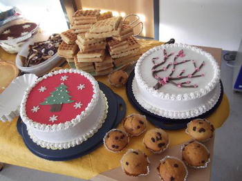 Weihnachtsbasar der BilinGO Grundschule in Kö