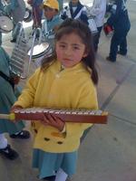 Neues Spielzeug und Instrumente für den Kinde
