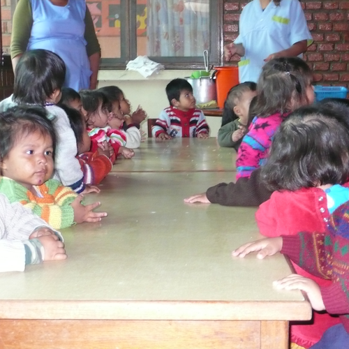 Essenszeit für die 1 - 3 Jährigen