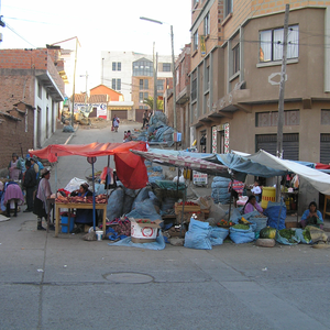 Obsthändler in Sucre