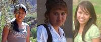 Leydi studiert Buchhaltung in Tarija, Tomasa studiert Biochemie in Sucre, Fabiola schließt dieses Jahr die Oberstufe ab und möchte danach studieren.
