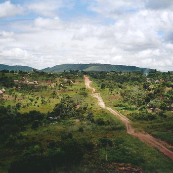Landschaft um Ascensión de Guaruayos