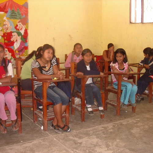 Mädchenklasse