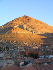 Minenberg in Potosi