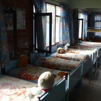 Schlafzimmer für die Großen (bis 6 Jahre)