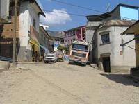 Straße in Oruro